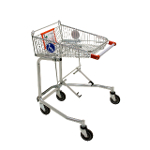 Wheelchair shopping trolley