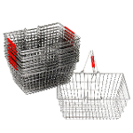Steel shopping handbasket