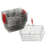 Einkaufskörbe aus Stahl