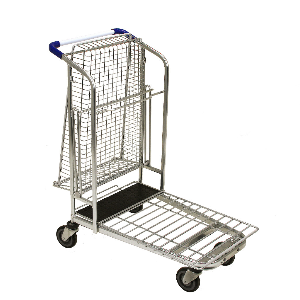 Transport trolley FBTB with folded basket