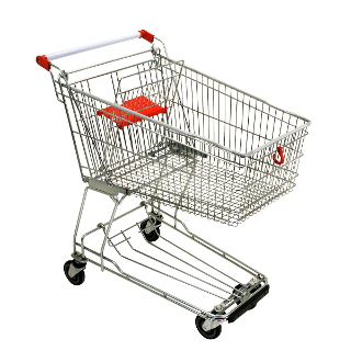 SB shopping trolley